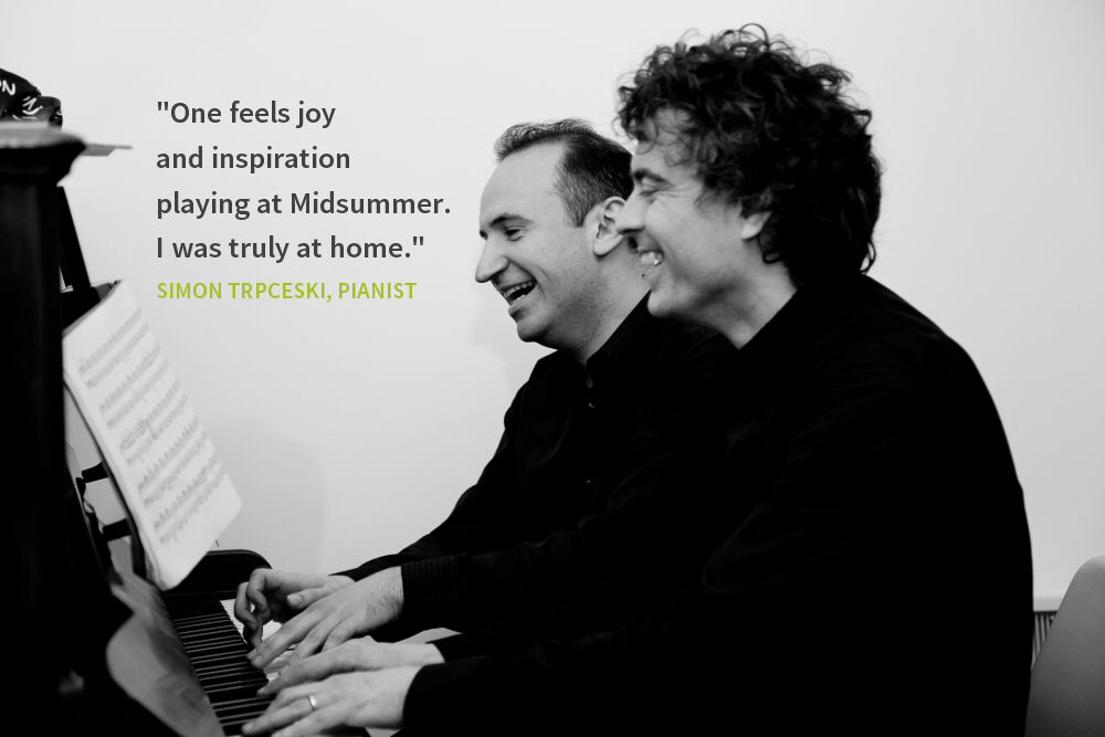 """One feels joy and inspiration 
